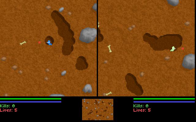 Liero screenshot 2