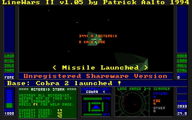 LineWars II screenshot 1