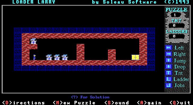 Loader Larry screenshot 1