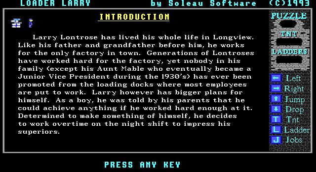 Loader Larry screenshot 3