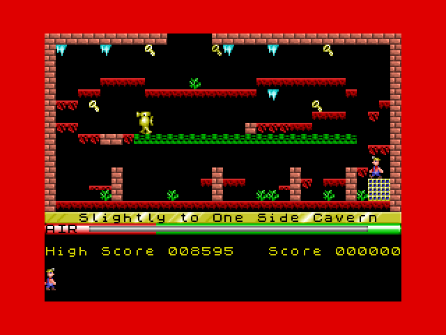 Manic Miner screenshot 1