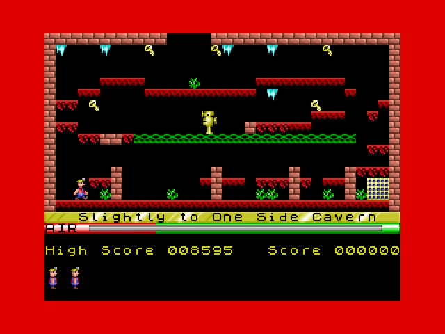 Manic Miner screenshot 2