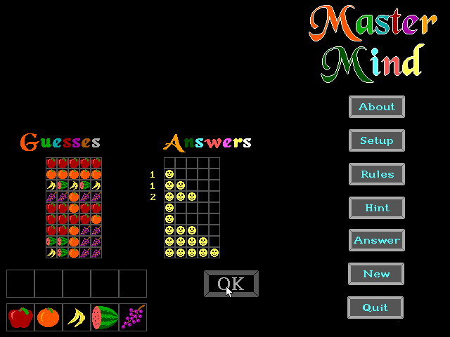 Master Mind screenshot 2