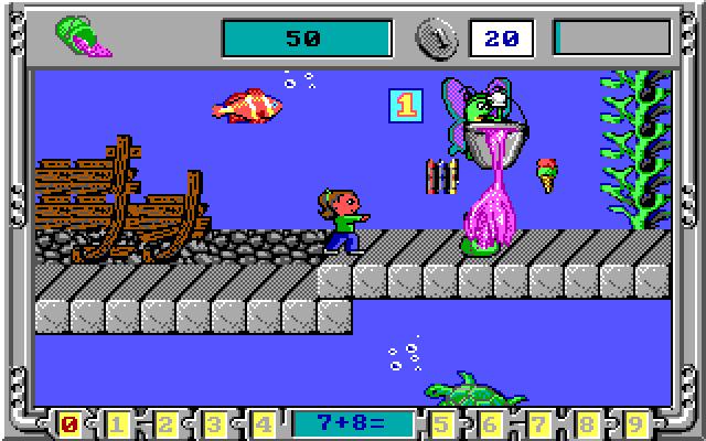 Math Rescue screenshot 1