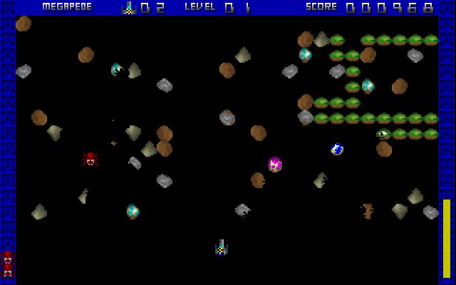 Megapede screenshot 2