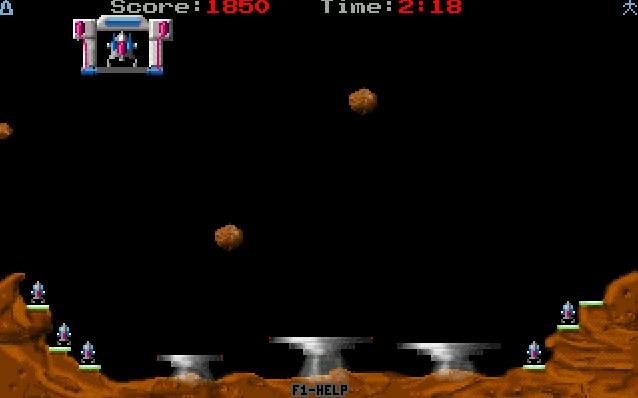 Meteor Rescue screenshot 1