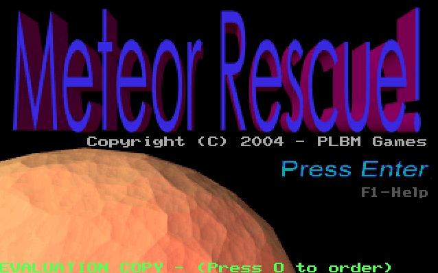 Meteor Rescue screenshot 3