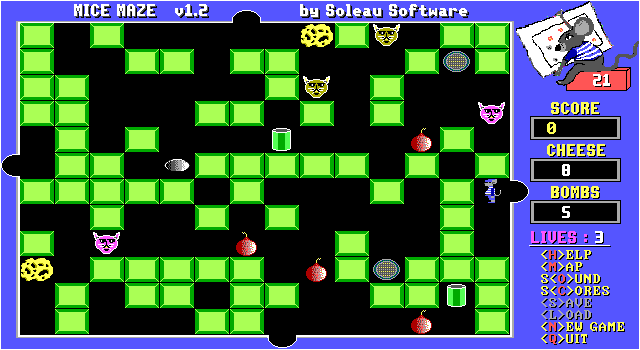 Mice Maze screenshot 1
