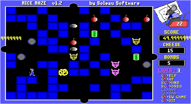 Mice Maze screenshot 2