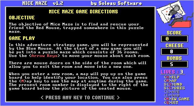 Mice Maze screenshot 3