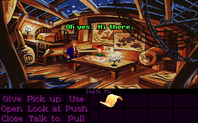 how to play monkey island
