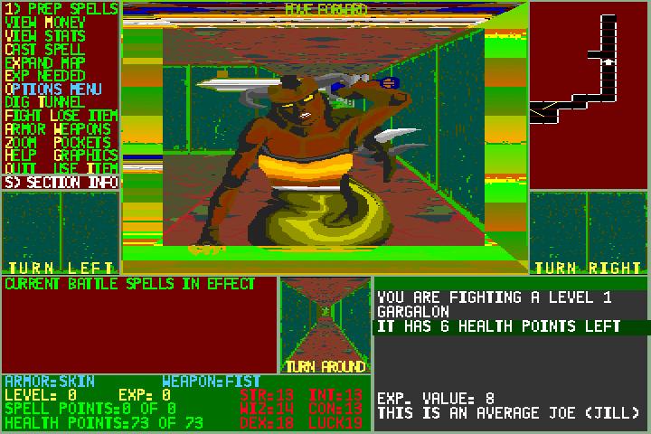 Moraff's Dungeon of the Unforgiven screenshot 2