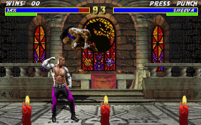 Mortal Kombat 3 screenshot 1