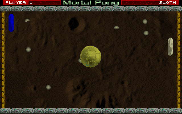 Mortal Pong screenshot 1