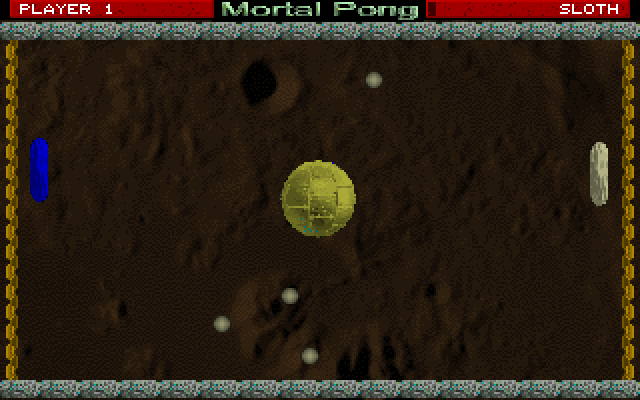 Mortal Pong screenshot 2