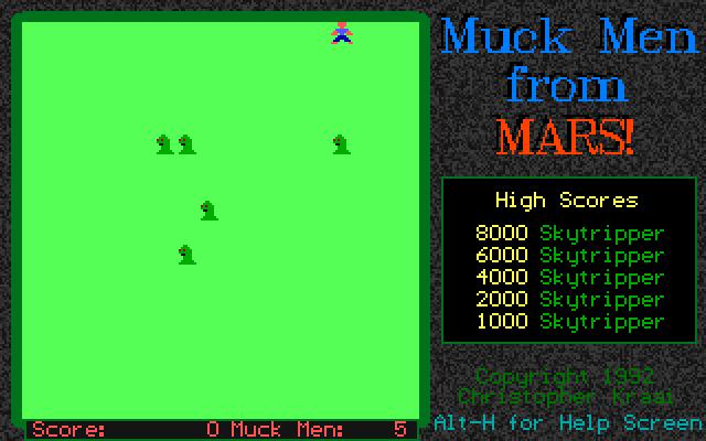 Muck Men from Mars screenshot 1
