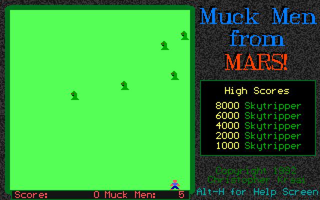 Muck Men from Mars screenshot 3