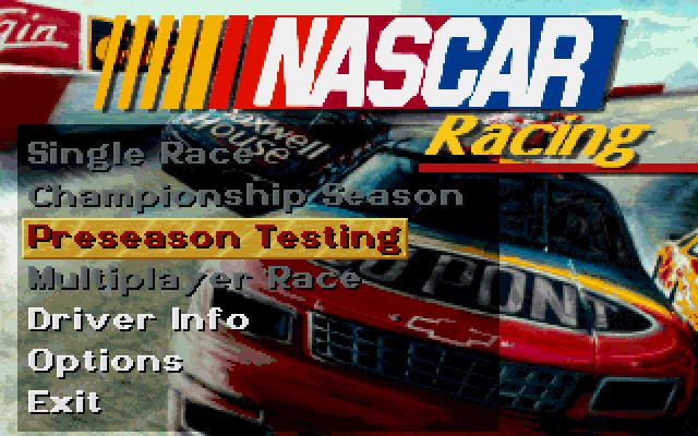NASCAR Racing screenshot 3
