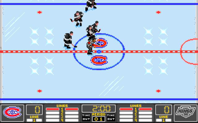 NHL Hockey screenshot 1