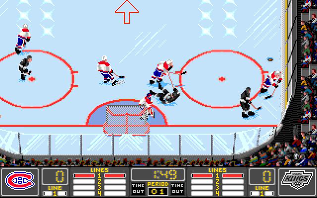 NHL Hockey screenshot 2