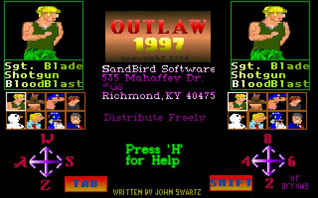 Outlaw 97 screenshot 3