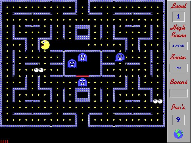 Pac-Bar screenshot 1