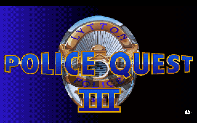 Police Quest 3: The Kindred screenshot 2