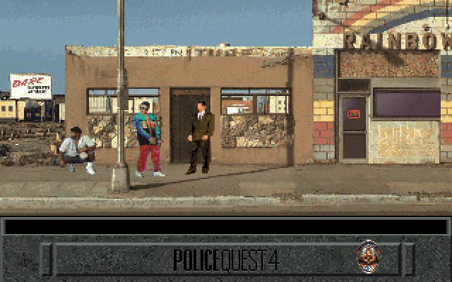 Police Quest 4: Open Season screenshot 1