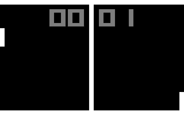 Pong screenshot 1