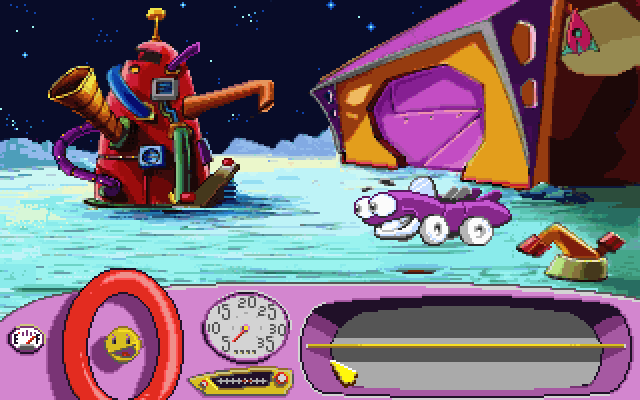 Putt Putt Goes to the Moon screenshot 1