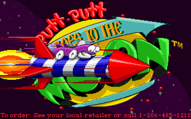 Putt Putt Goes to the Moon screenshot 3