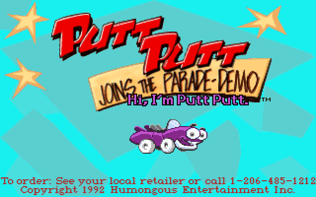 Putt Putt Joins the Parade screenshot 3