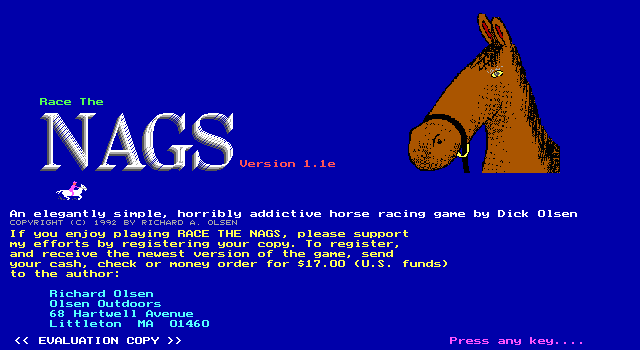Race the Nags screenshot 3