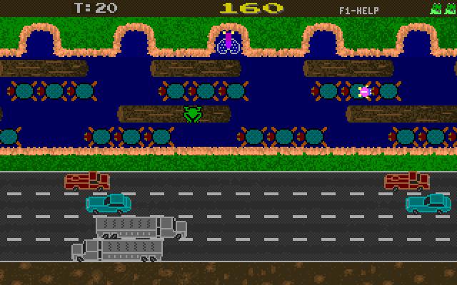 Revenge of Froggie screenshot 1