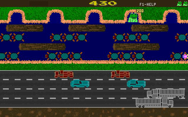 Revenge of Froggie screenshot 2