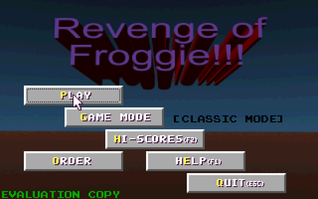 Revenge of Froggie screenshot 3