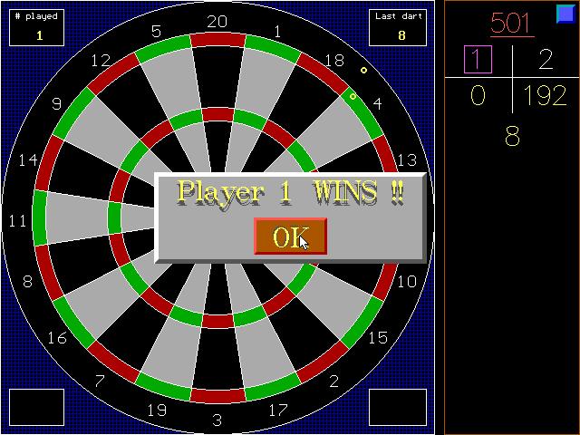 RSA Darts screenshot 2