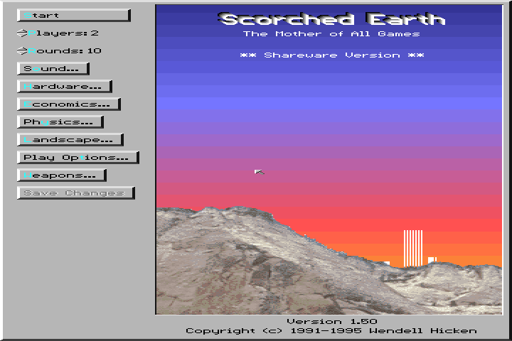 Scorched Earth screenshot 3