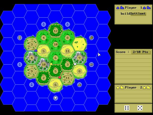 Settlers of Catan screenshot 1