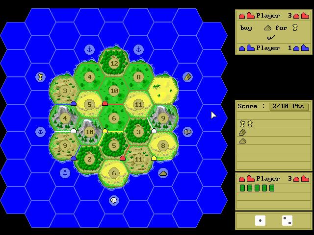Settlers of Catan screenshot 2