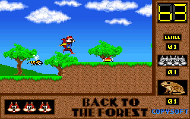 Skunny: Back to the Forest screenshot 1