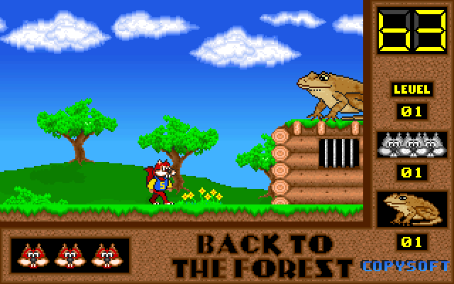 Skunny: Back to the Forest screenshot 2