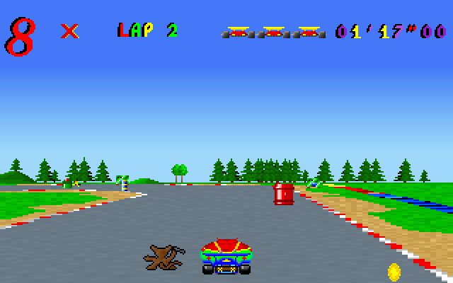 Skunny Kart screenshot 1