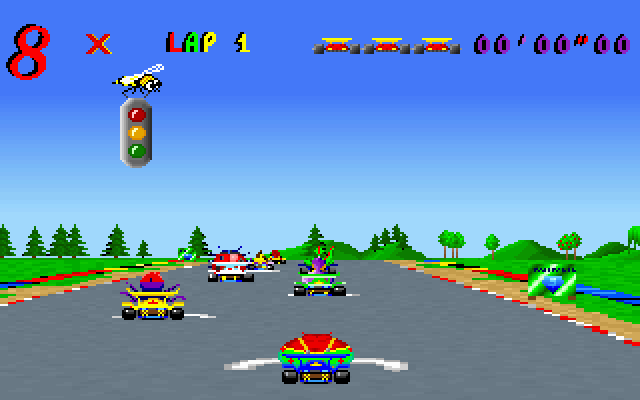 Skunny Kart screenshot 2
