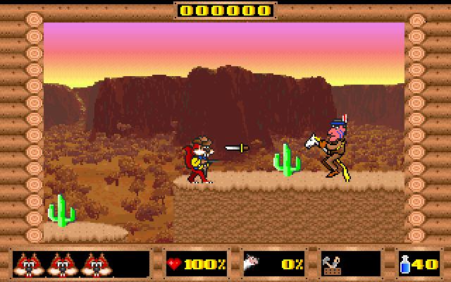 Skunny: Wild West screenshot 1