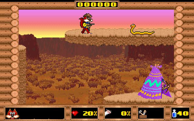 Skunny: Wild West screenshot 2
