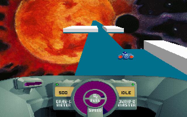 SkyRoads screenshot 2