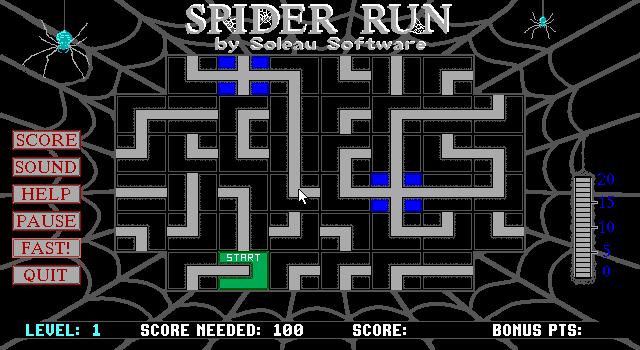 Spider Run screenshot 1