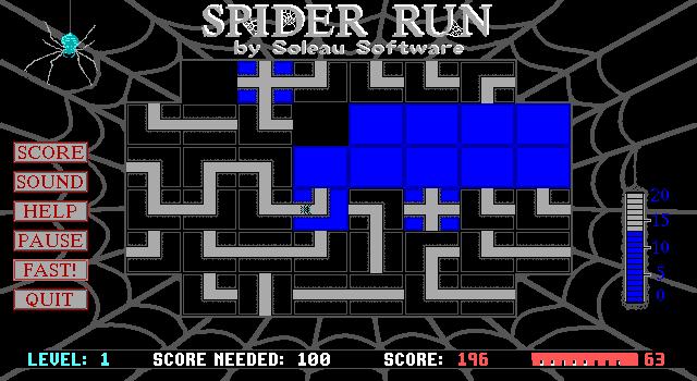 Spider Run screenshot 2