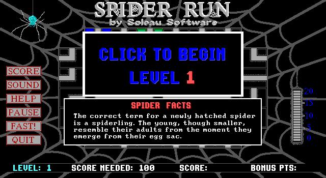 Spider Run screenshot 3